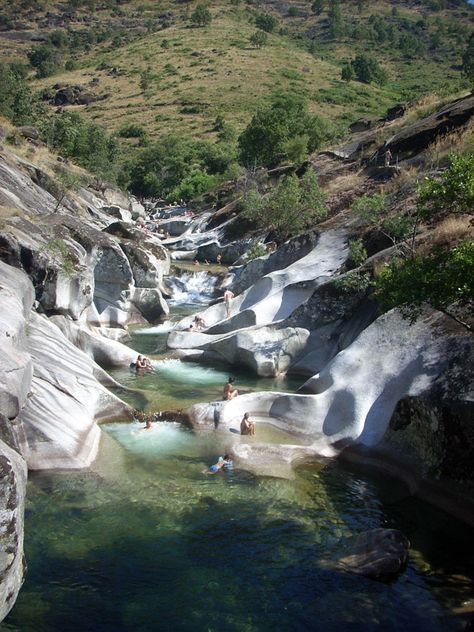 Diez playas de agua dulce en espa a lugares que visitar for Piscinas naturales sevilla