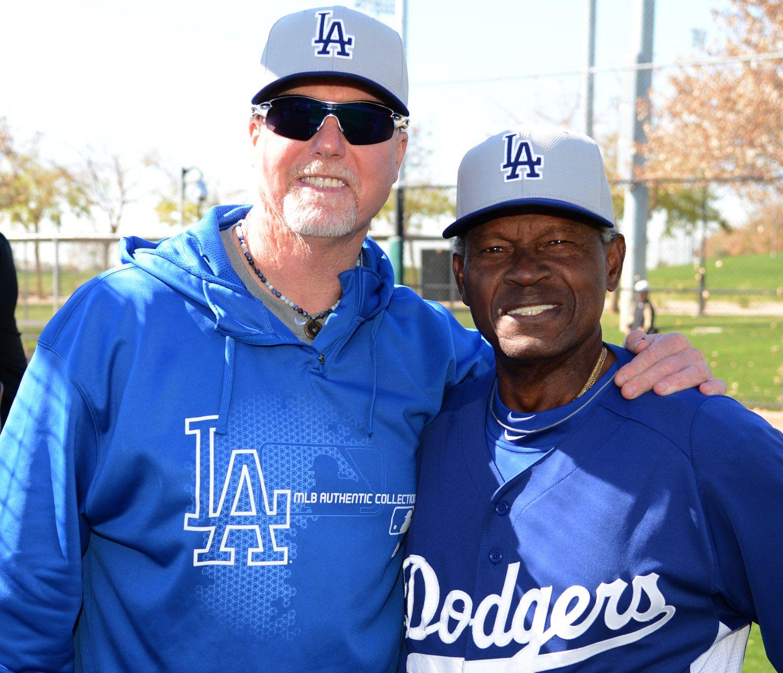 Mark McGwire and Manny Mota... ST 2013...