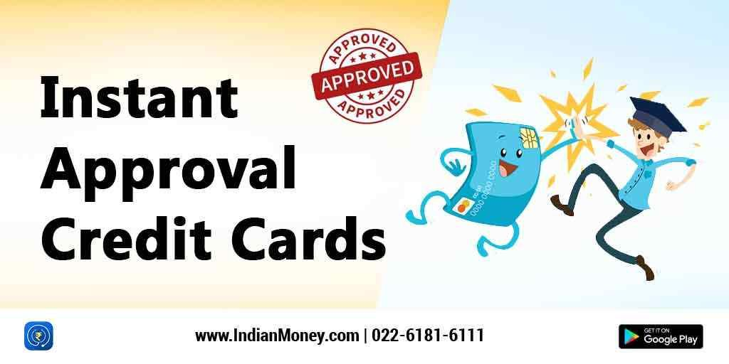 instant approval credit cards with images  instant
