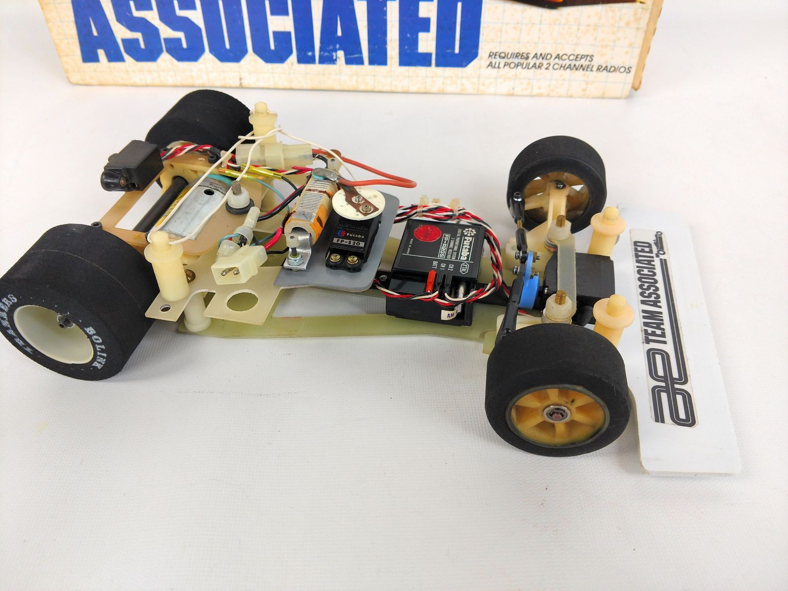 Vintage RC12i 1/12 Team Associated Electric Competition