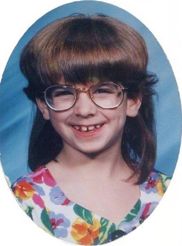 Les pires coiffures pour enfants dans les ann es 1980 et 1990 coiffures pour enfants ann e - Coupe annee 80 ...