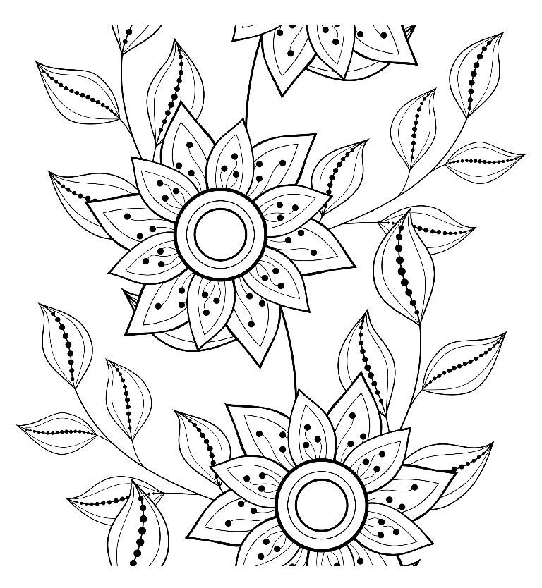 Coloring page from the ColorArt coloring app Coloring