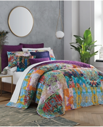 Tracy Porter Harper King Quilt Purple, Tracy Porter Bedding King Size