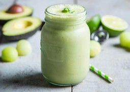 Refreshing Melon Protein smoothie.  #BESTSMOOTHIE & #VEGASMOOTHIE