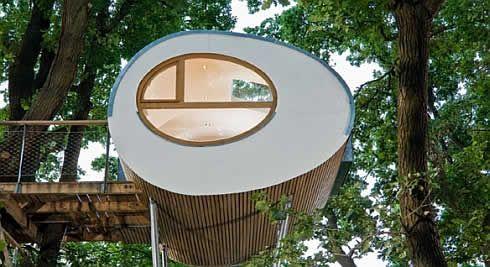 Baumhauser Amazing Prefab Treehouses By Baumraum