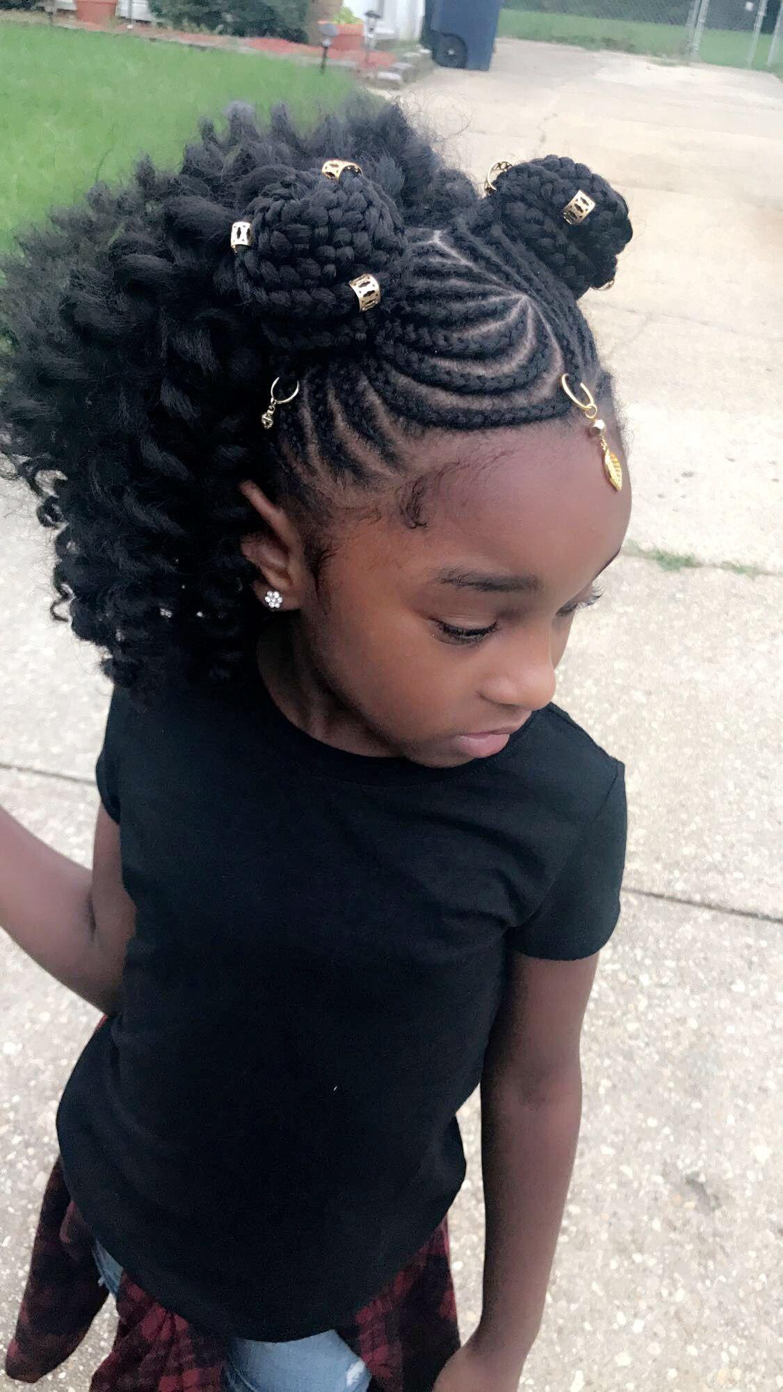 pinterest| @amea101 | cute little girl styles | black kids
