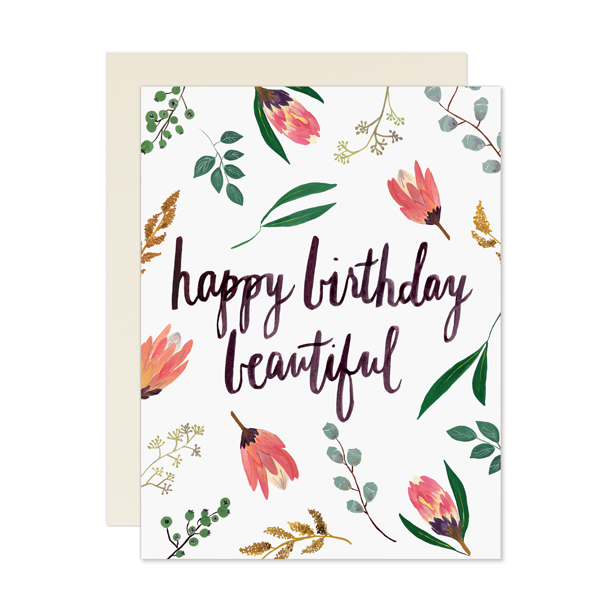 Happy birthday beautiful card happy birthday beautiful pinterest