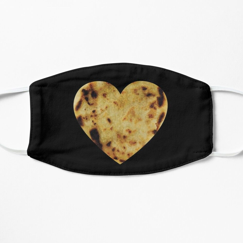 'Pupusas El Salvador Gift Salvadorian Food Salvi Guanaco Eat' Mask by Shirt-Surf