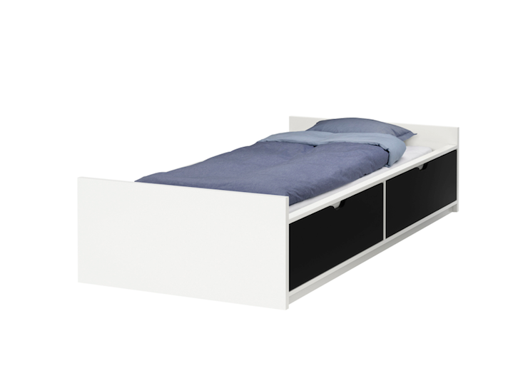 Flaxa bed frame with storage bedroom bed frame