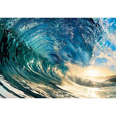 WallPops! The Perfect Wave Wall Mural