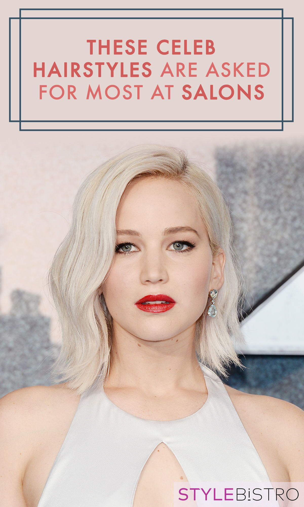 the most requested celebrity hairstyles at the salon