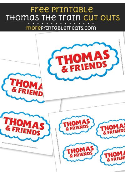 Free Thomas And Friends Logo Cut Outs