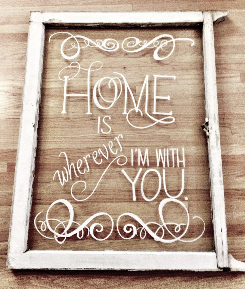 refurbished frame ideas vintage window project with vinyl letters restlessandrefurbished