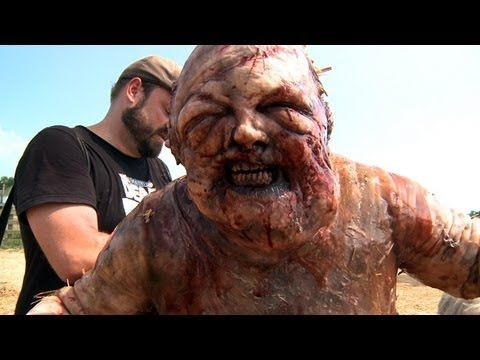 'The Well Walker: Inside The Walking Dead'  Uploaded on Jan 26, 2012 by amc. Watch as #TheWalkingDead special effects team assembles one of the most gruesome zombies of this season, then watch as the survivors destroy it.