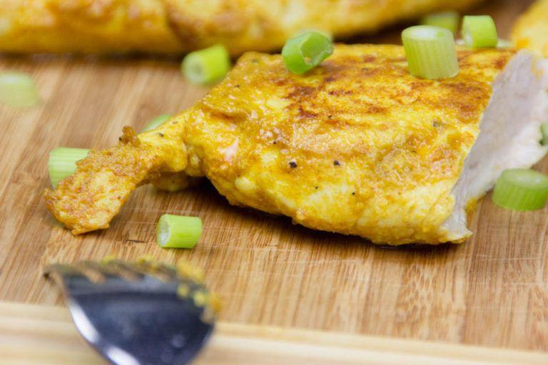 Curry-Paprika Marinade mit Joghurt, einfach und mit wenigen Zutaten