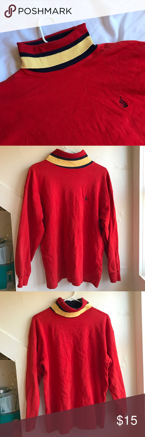 Vintage 90s Turtleneck great condition, no flaws or stains Vintage Sweaters Cowl & Turtlenecks