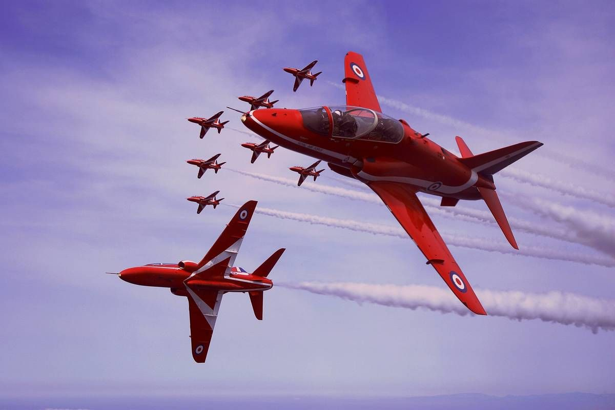 Red Arrows Tribute Car Decal//Sticker *RAF* *Air Display*Air Show*