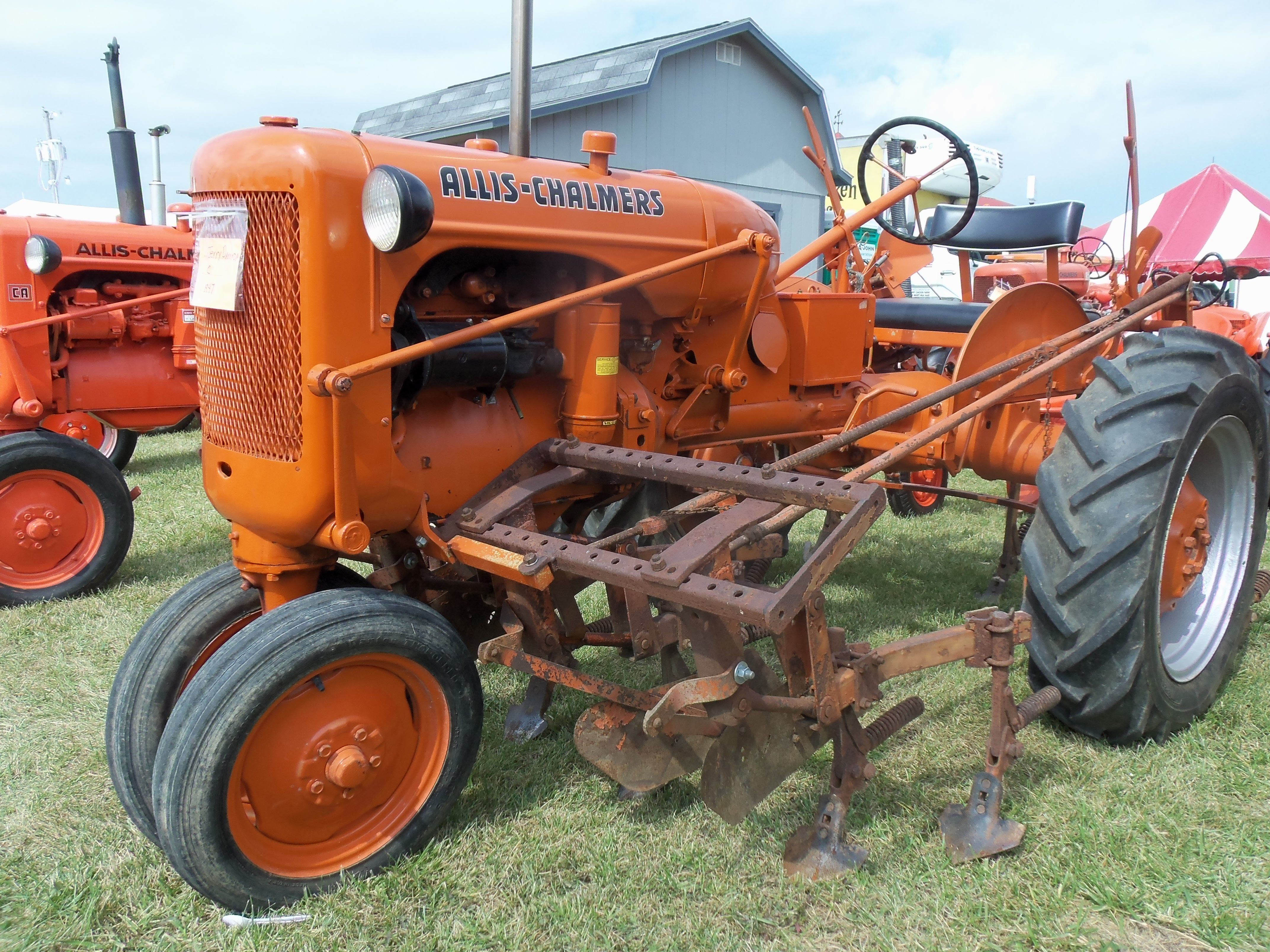 small resolution of 1947 allis chalmers c with cultivators