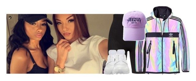 """say it -Tory lanez"" by pretty-ambi ❤ liked on Polyvore featuring Zhenzi, adidas and NIKE"