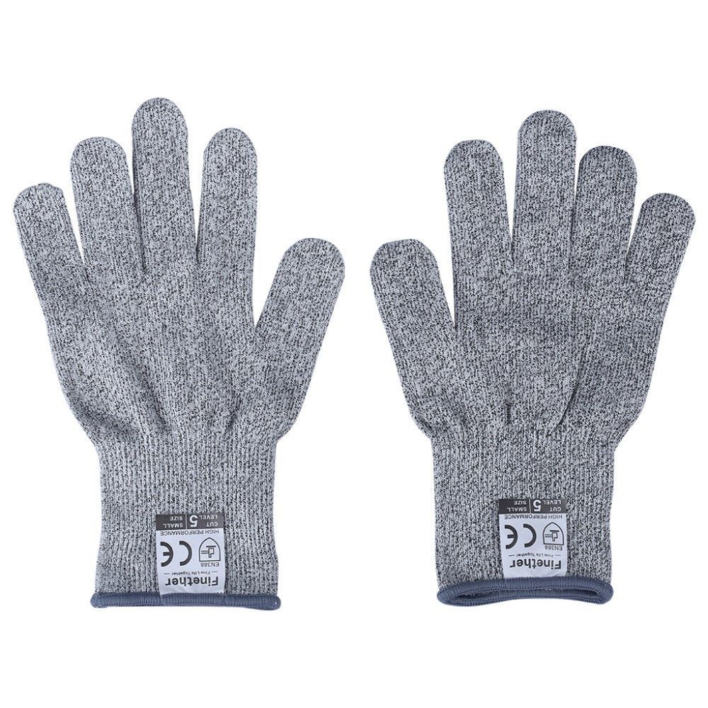 Cut-Resistant Gloves Level 5 and CE Certified Anti Abrasion Safety Working Protective Gloves