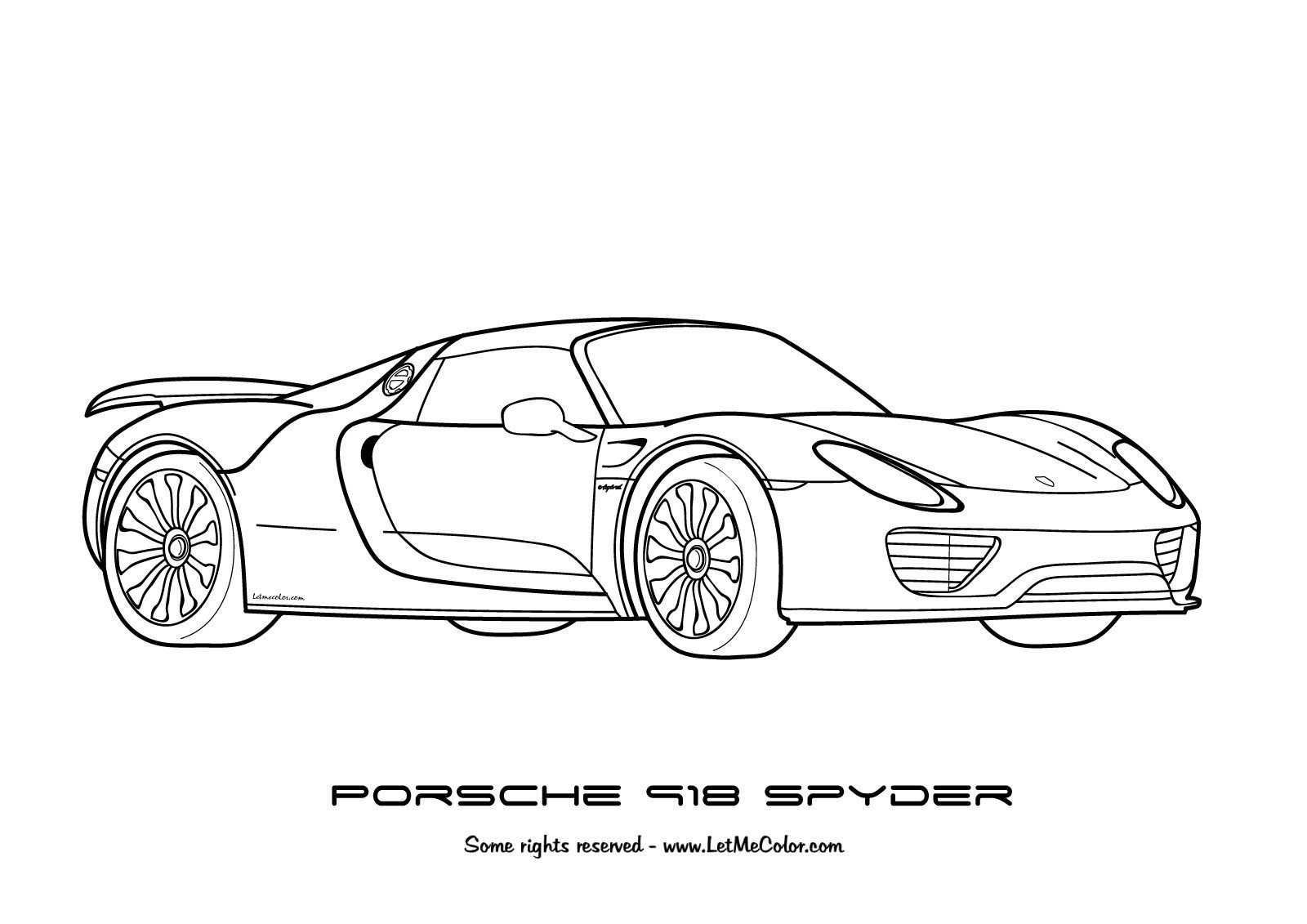 25+ Elegant Picture of Coloring Pages Of Cars Desenhos