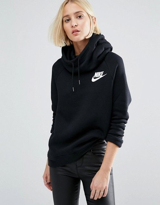 referencia Independientemente seta  Nike | Nike Pullover Hoodie In Black With Small Futura Logo | Black nike  hoodie, Nike pullover, Nike pullover hoodie
