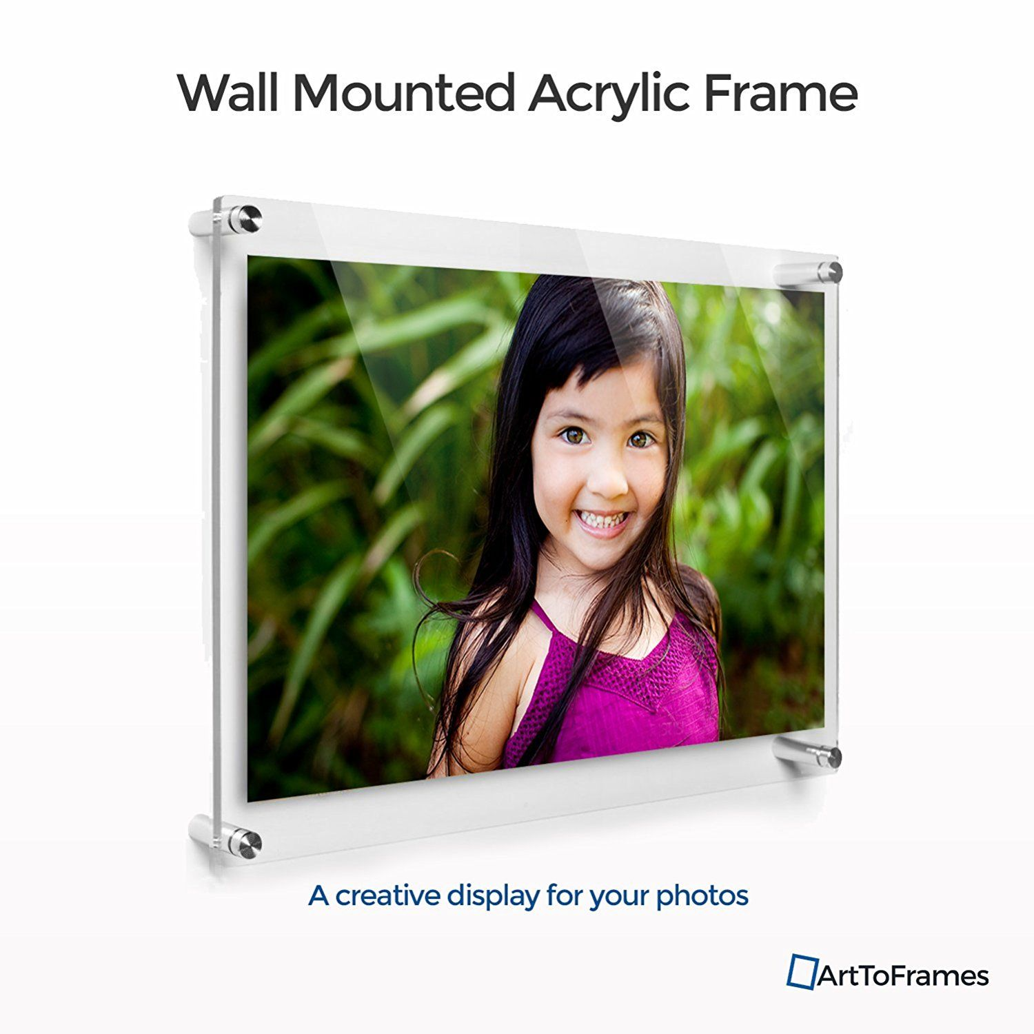 ArtToFrames Floating Acrylic Frame for Pictures Up To 24x36 inches ...
