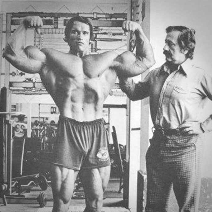 Arnold Schwarzenegger pays tribute to Joe Weider Working out - fresh arnold blueprint day 11