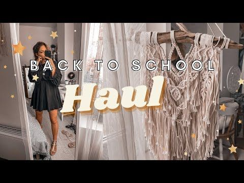 Haul Vinted, shoes, déco, lifestyle & 0 déchets / #BACKTOSCHOOL 2020📚 - YouTube