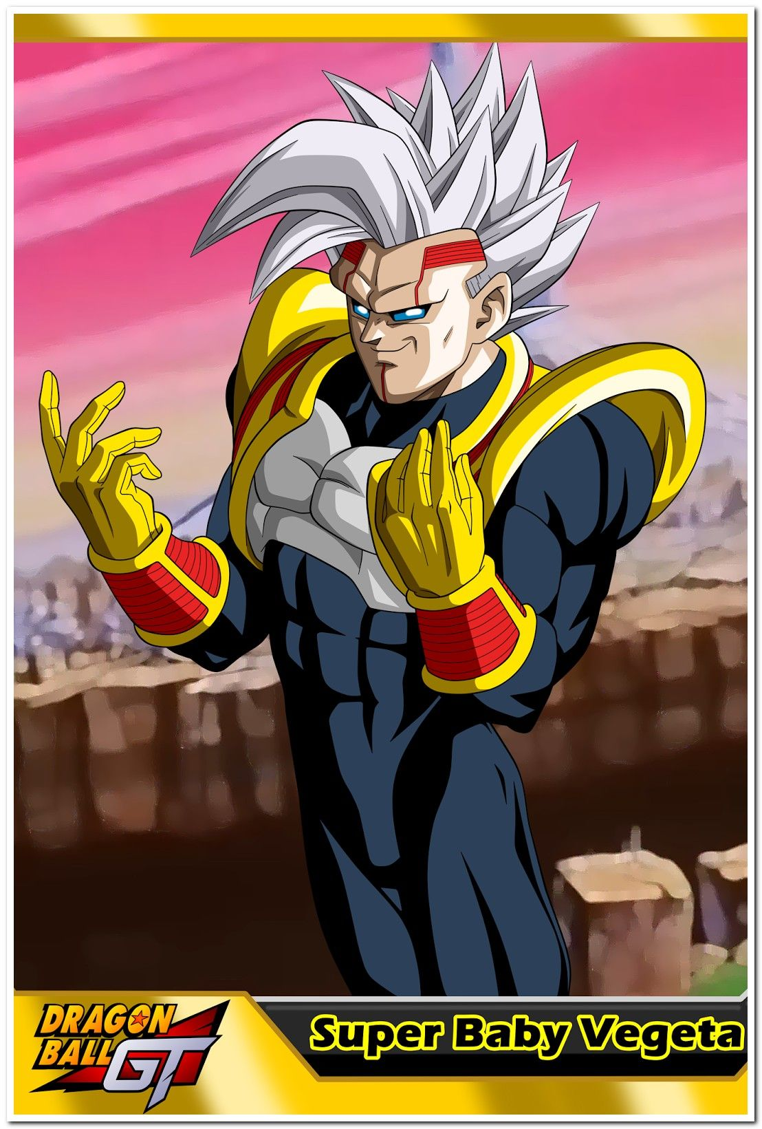 Dragon Ball Gt Super Baby Vegeta In 2020 Baby Vegeta Anime Dragon Ball Super Anime Dragon Ball