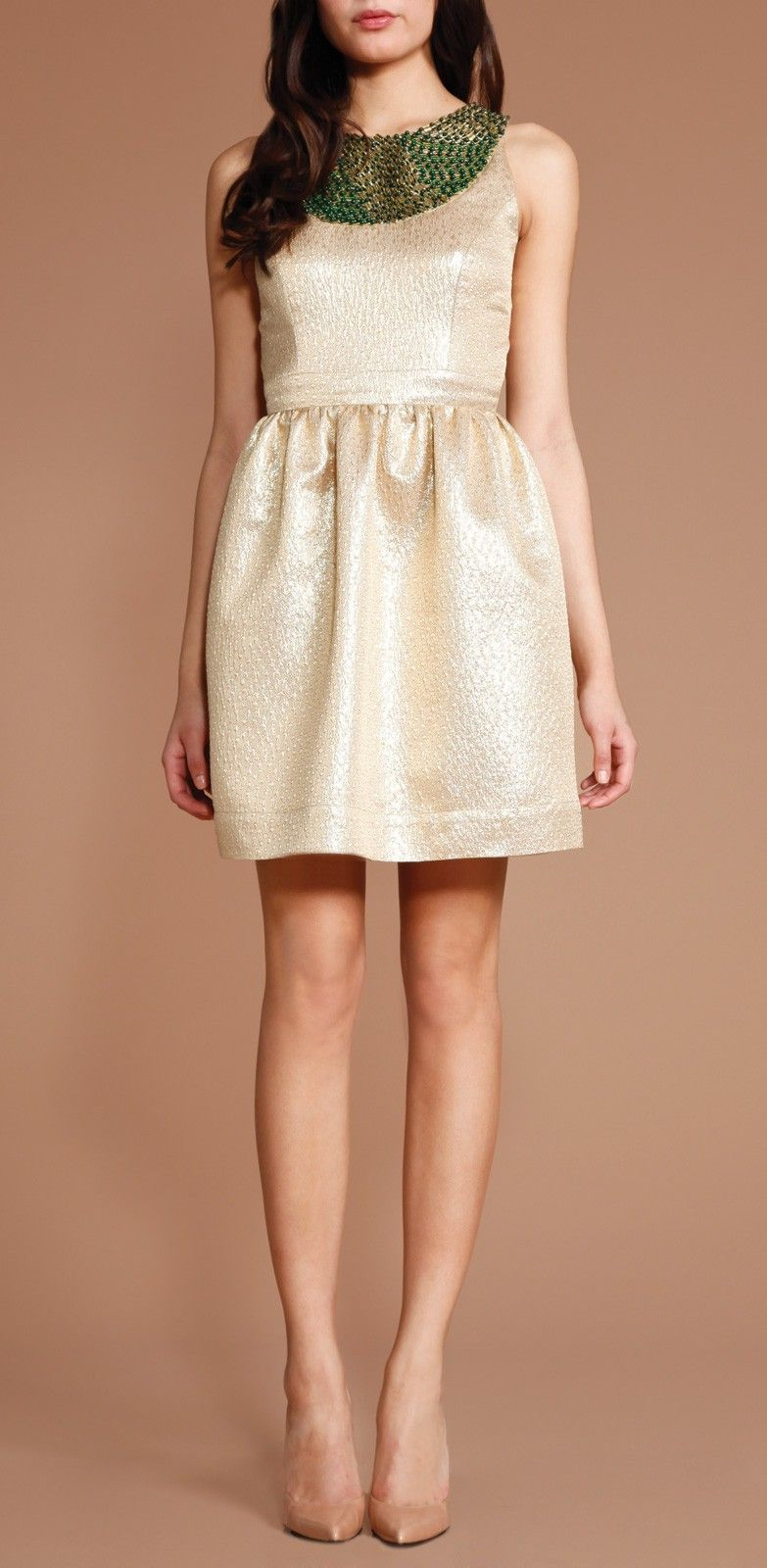 Beaded Priya Dress I love the bib neckline. #janeiredaleHolidayParty