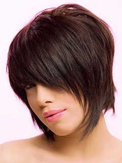 Short Haircuts For Oval Shaped Faces Layered Shag Snip Snip