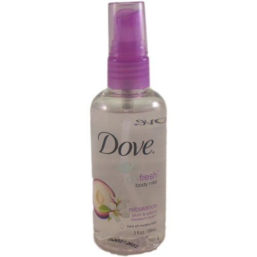 Dove Go Fresh Rebalance Body Mist Plum And Sakura Blossom 3 Ounce Additional Details At The Pin Image Click It Body Mist Fragrance Store Travel Perfume