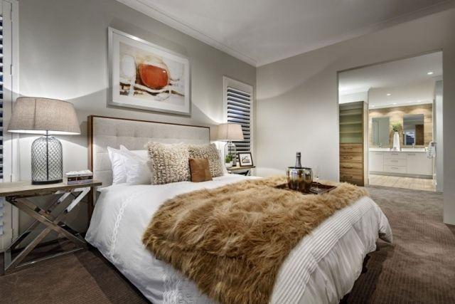 Chambre à coucher adulte u2013 127 idées de designs modernes - moderne schlafzimmer farben