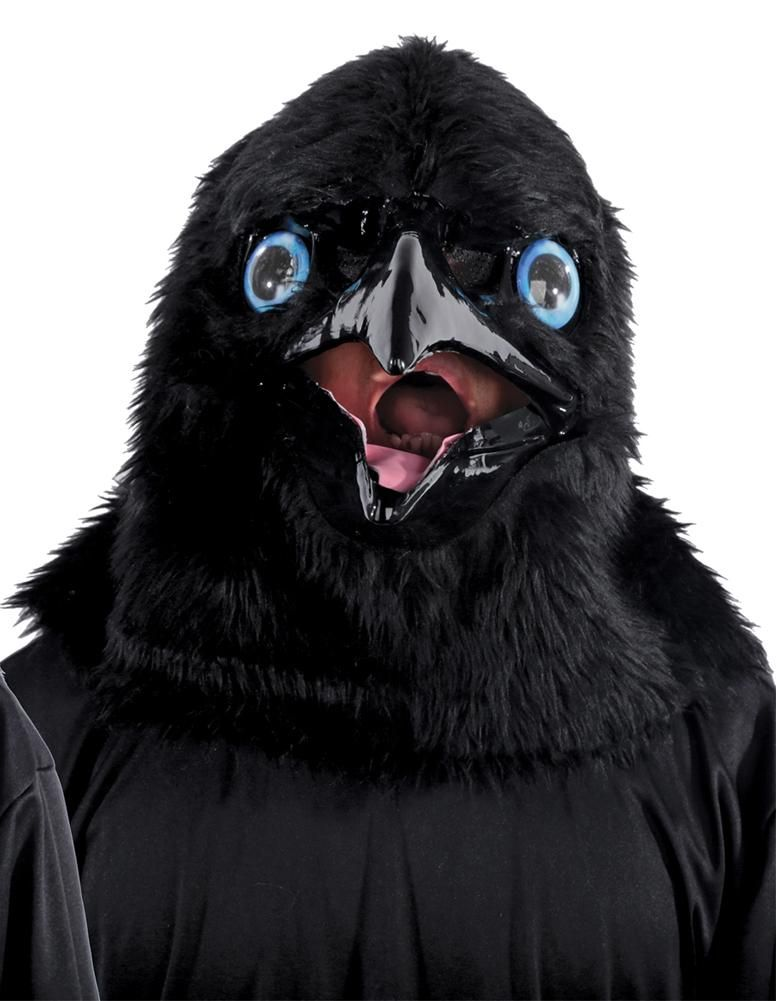 Animated Animal Raven Mask | Products | Raven mask, Animals