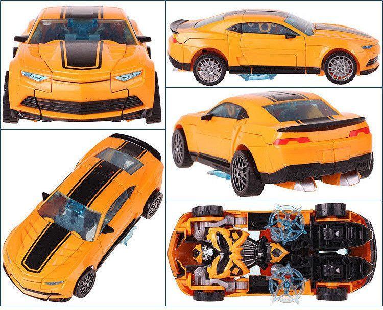 Robot Car Transformation Toys Bumblebee Anime Transformation Robot ...