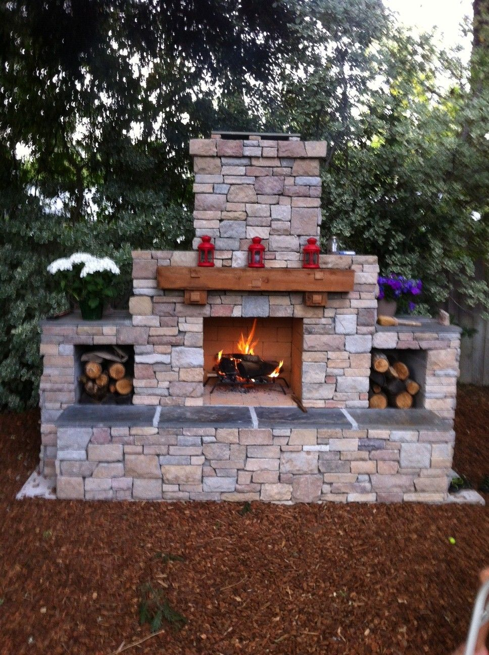 Pin By Terry Ball On The Great Outdoors Outdoor Fireplace Plans Diy Outdoor Fireplace Outdoor Fireplace Designs