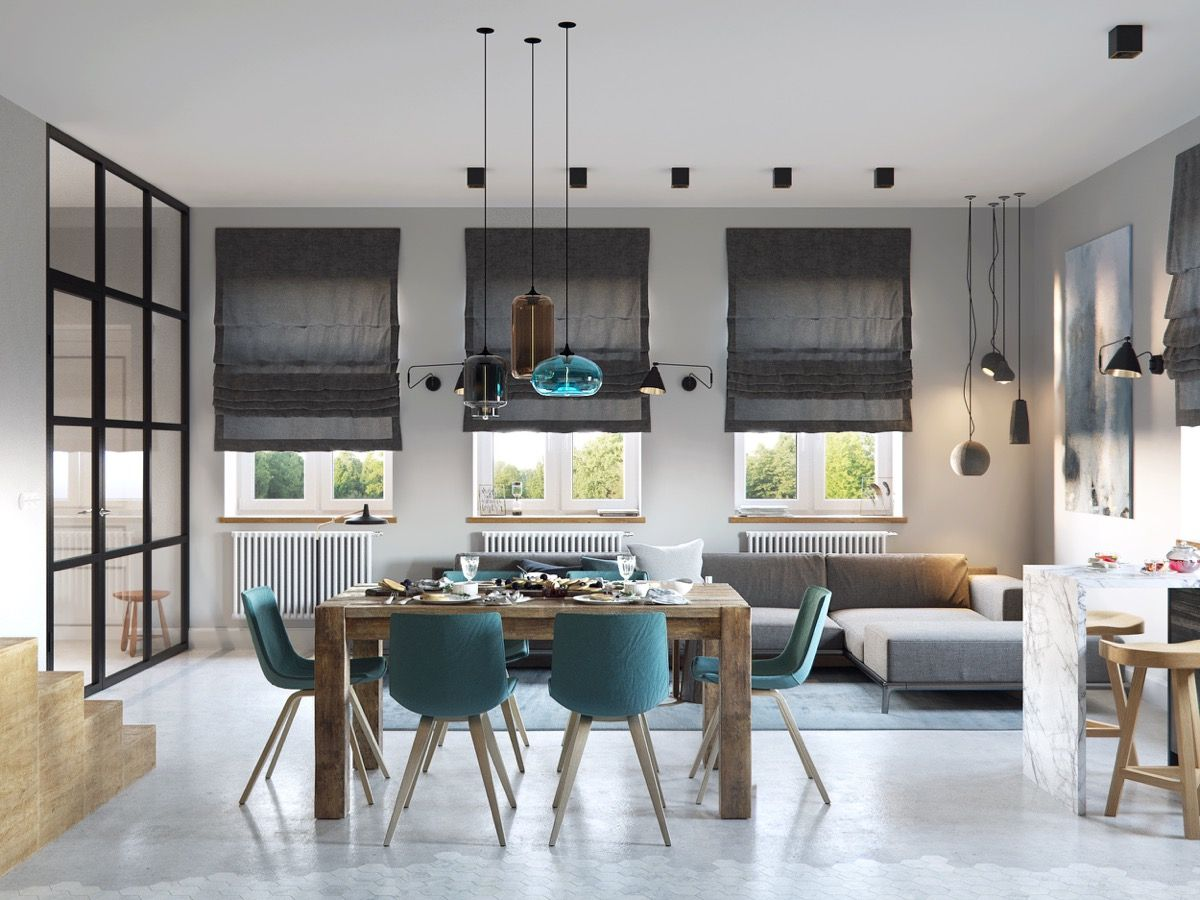 Stunning Chic Dining Room Designs Combined With Modern Features