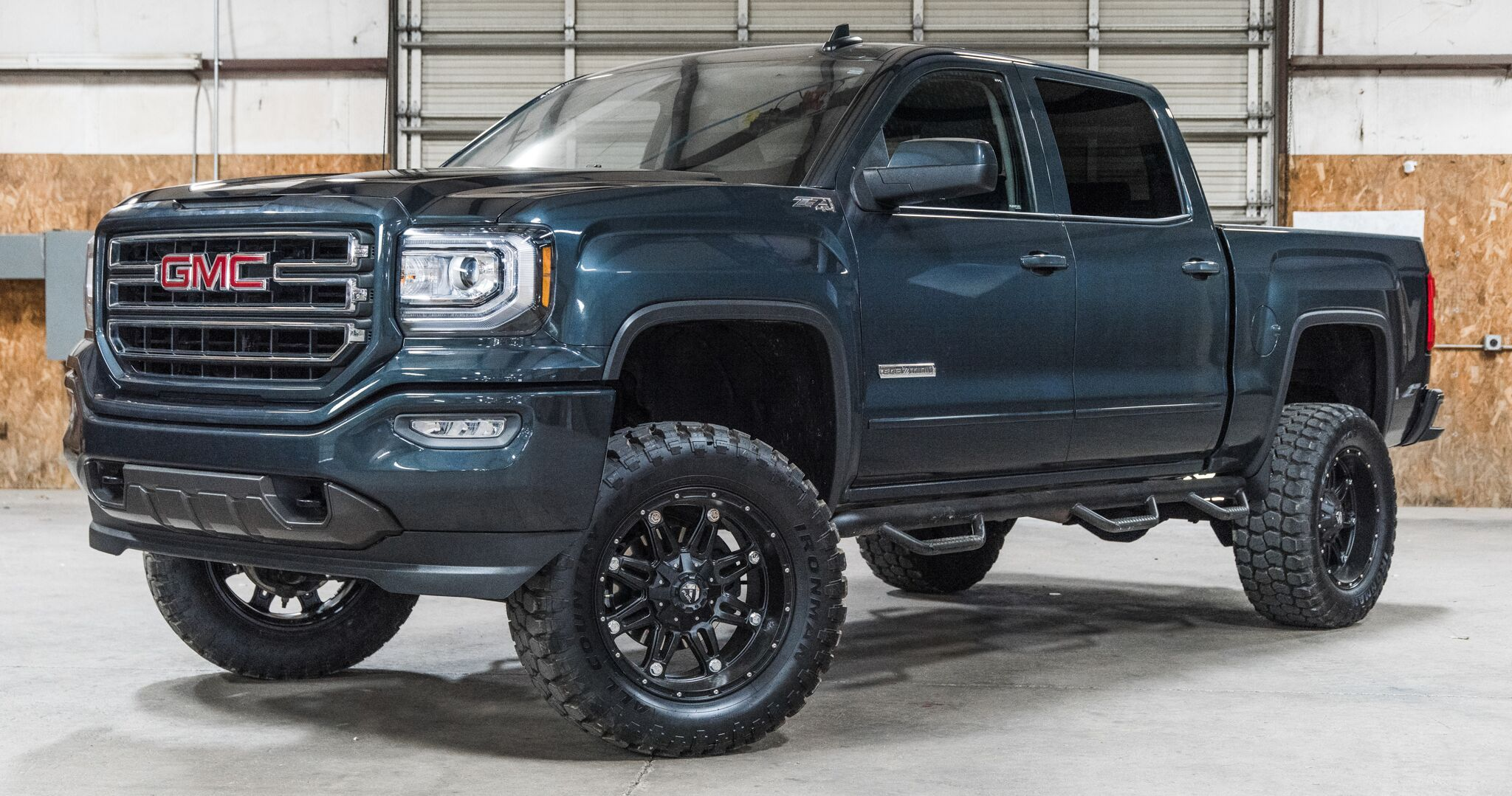 Sold Stock 9091 Lifted 2018 Gmc Sierra 1500 4x4 Crew Cab Sle Z71