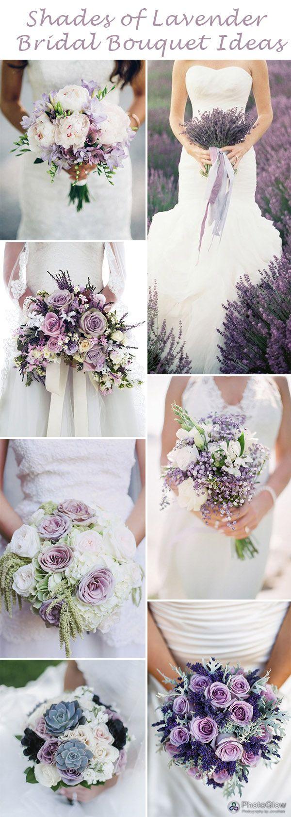 Lavender themed wedding decor  SwoonWorthy Shades of Lavender Wedding Ideas  Bridal bouquets