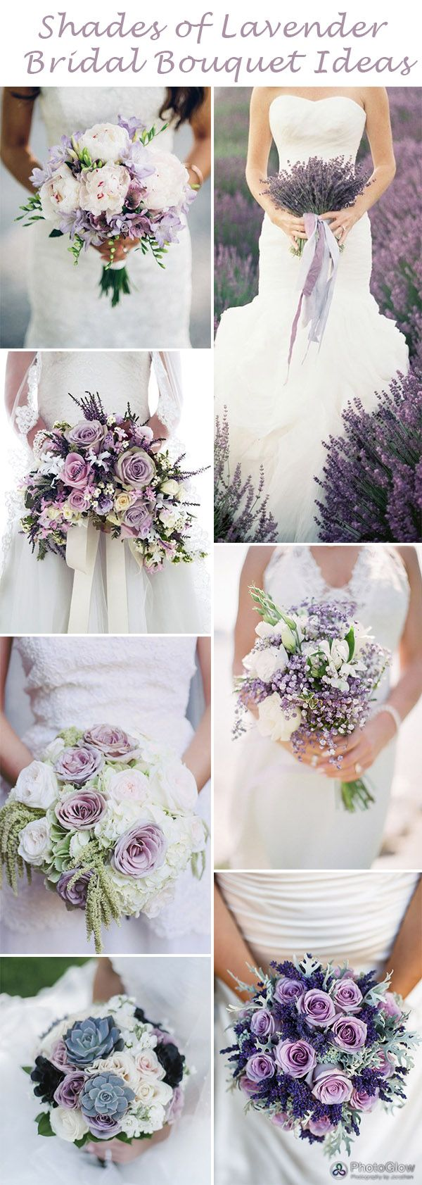 Swoon-Worthy Shades of Lavender Wedding Ideas   Bridal bouquets ...