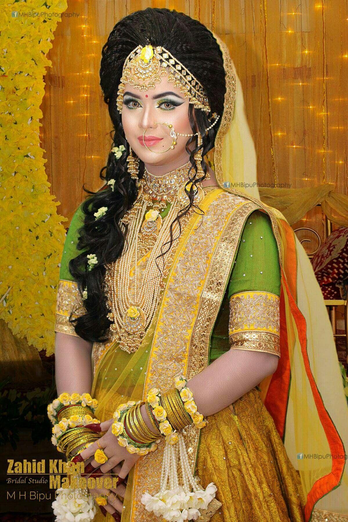 bd holud ceremony | outfits | saree wedding, pakistani