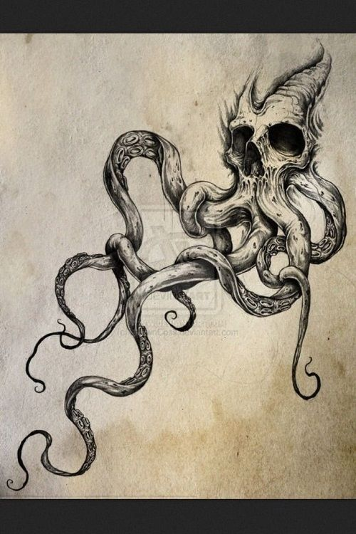 72 best octopus tattoos and drawings with images tentacle tattoo octopus tentacles and tattoo. Black Bedroom Furniture Sets. Home Design Ideas