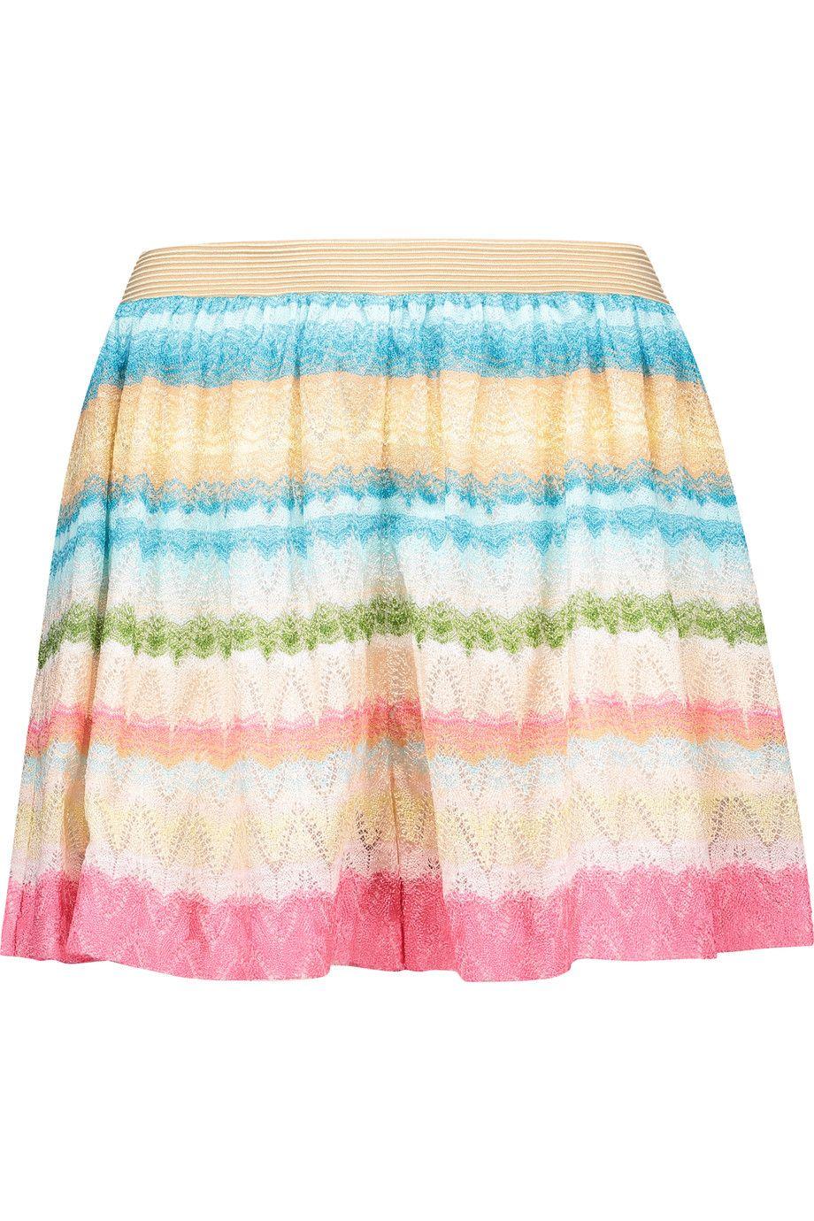 MISSONI Crochet-Knit Shorts. #missoni #cloth #shorts
