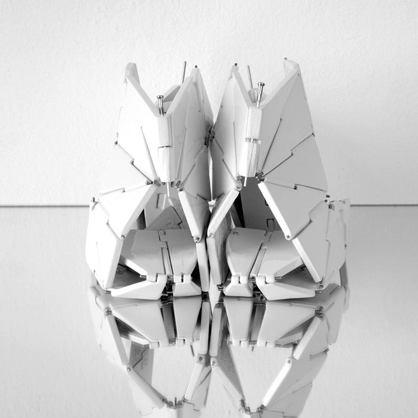 Julija frodina combina mestiere + tecnologia per sviluppare calzature concettuale