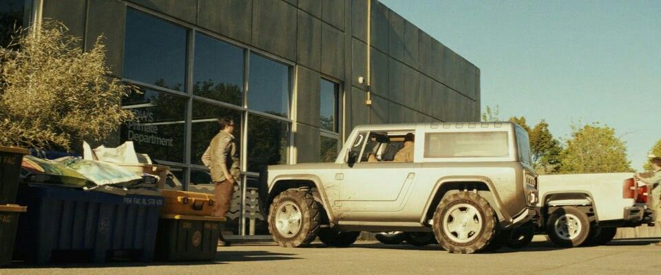 The Rock Driving Ford Bronco Concept In Rampage Ford Bronco