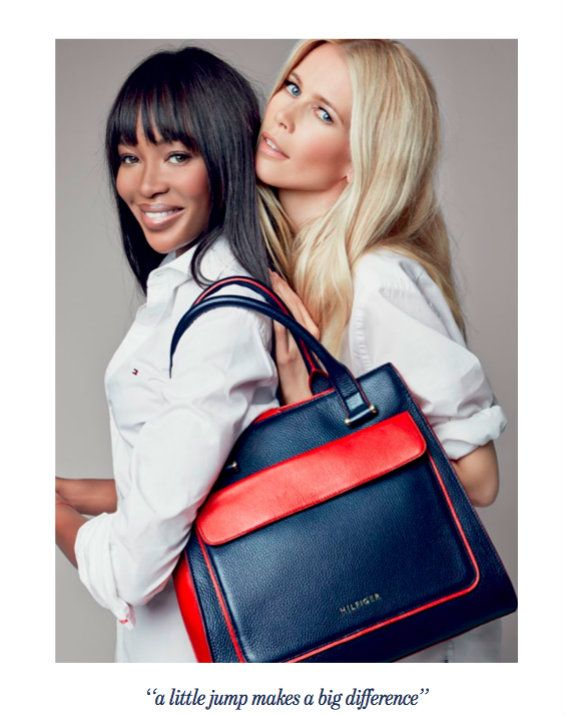 13b6832bf66 Tommy Hilfiger Launches Limited-Edition Handbag in Support of Breast ...