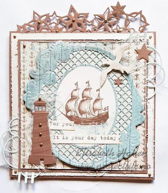 Elisabeth's scrappehjørne: Maritimt kort