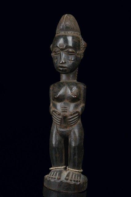 c54d25d4a Female figure Blolo bla. Ivory Coast, Baule. | Africa/Alkebu-Lan ...