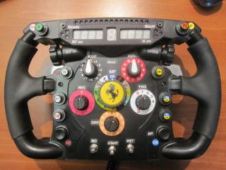 Thrustmaster F1 Wheel Mod With Simr F1 Display Switches And Encoders Wheel Mod Racing Simulator
